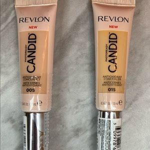 NWT 2 Revlon Photo ready Concealers.